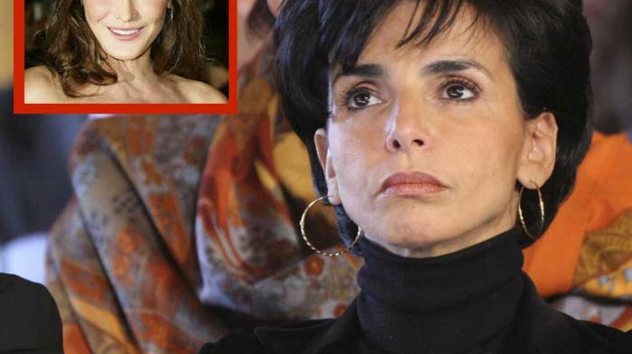 Carla Bruni a adoré Belle amie, le livre sur Rachida Dati