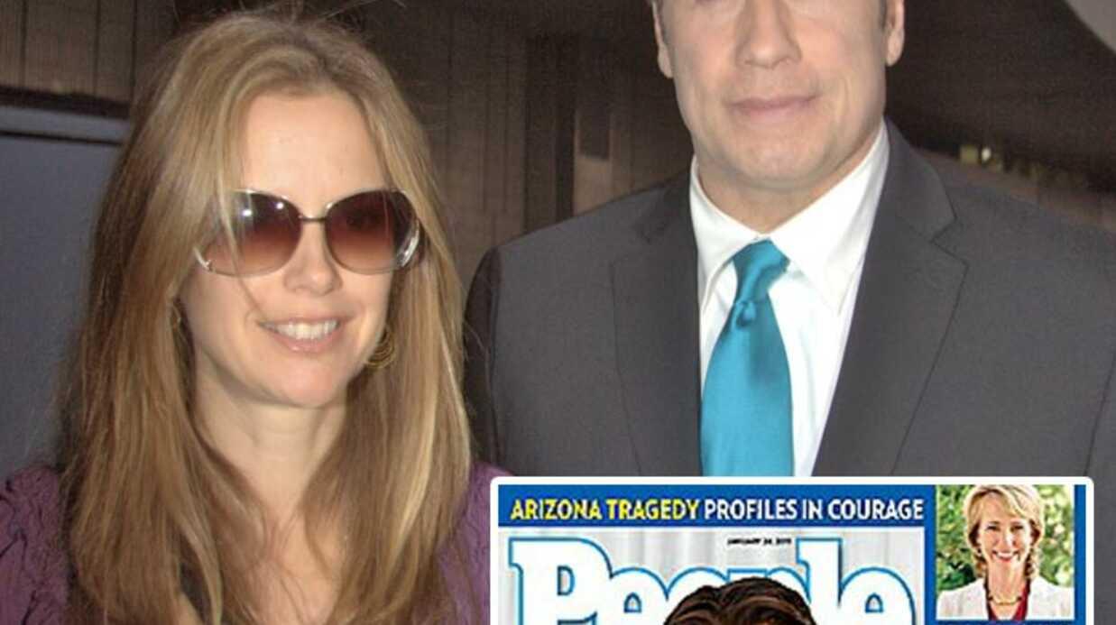 John Travolta et Kelly Preston présentent leur fils Benjamin