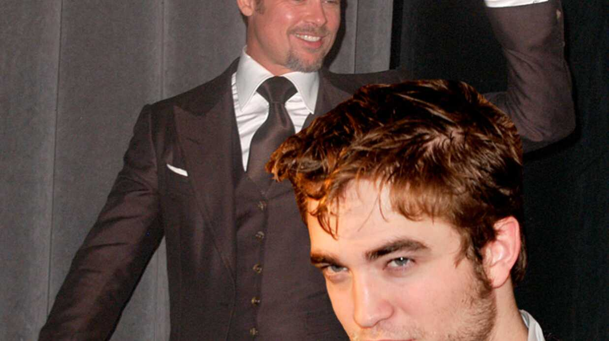 Robert Pattinson: détrôné par Brad Pitt
