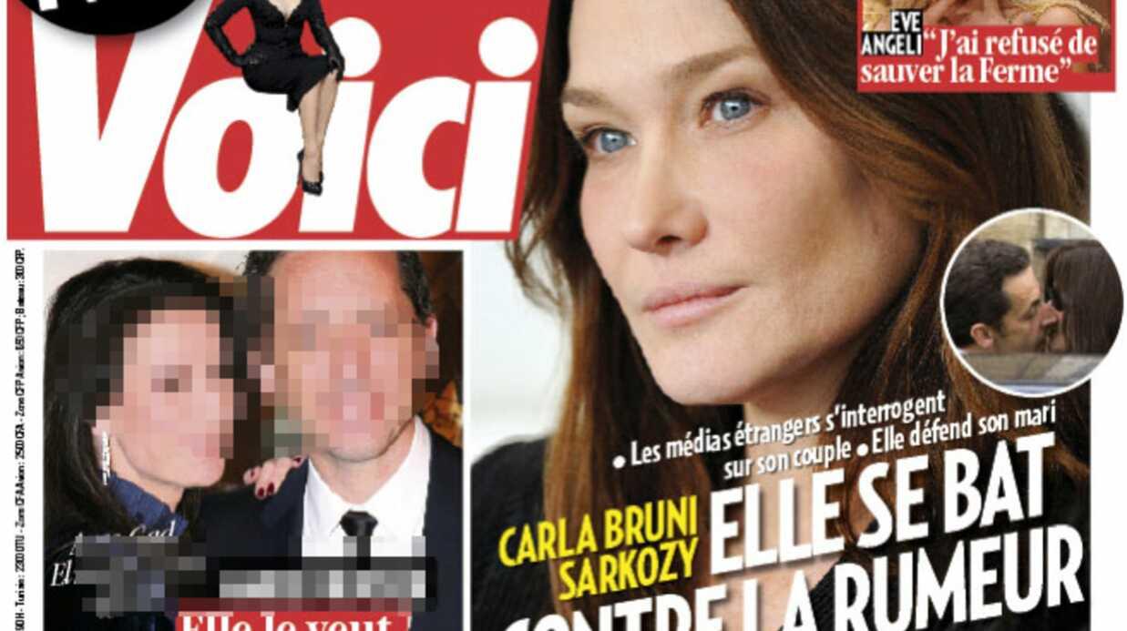 Carla Bruni se bat contre la rumeur et défend Nicolas Sarkozy