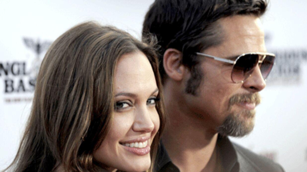 Brad Pitt et Angelina Jolie  veulent adopter une fille