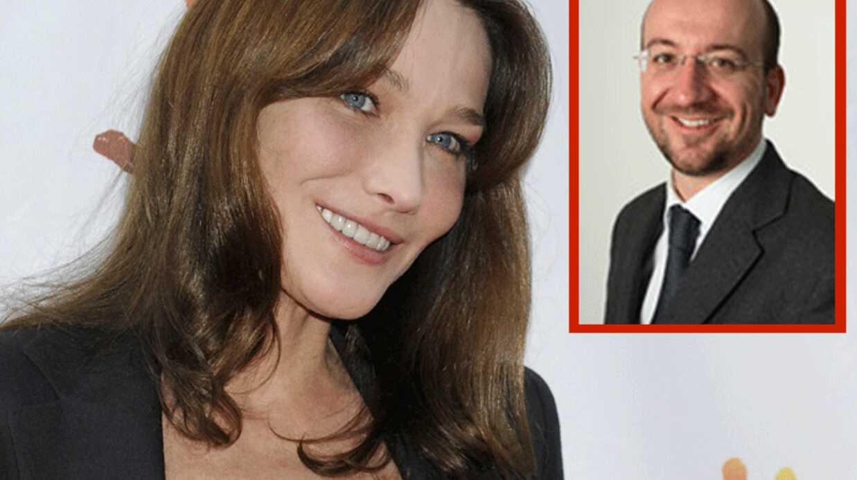 Carla Bruni draguée par le ministre belge Charles Michel