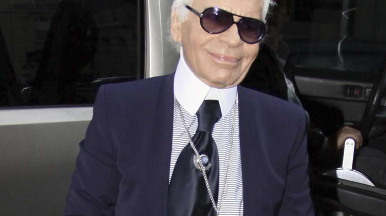 Karl Lagerfeld ne veut pas de «rondes» sur les podiums