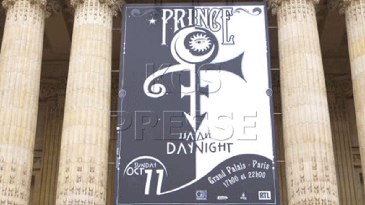 Prince: double succès live au Grand Palais dimanche