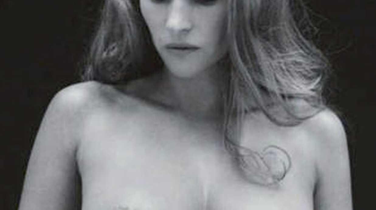 Vanessa Demouy topless pour la bonne cause