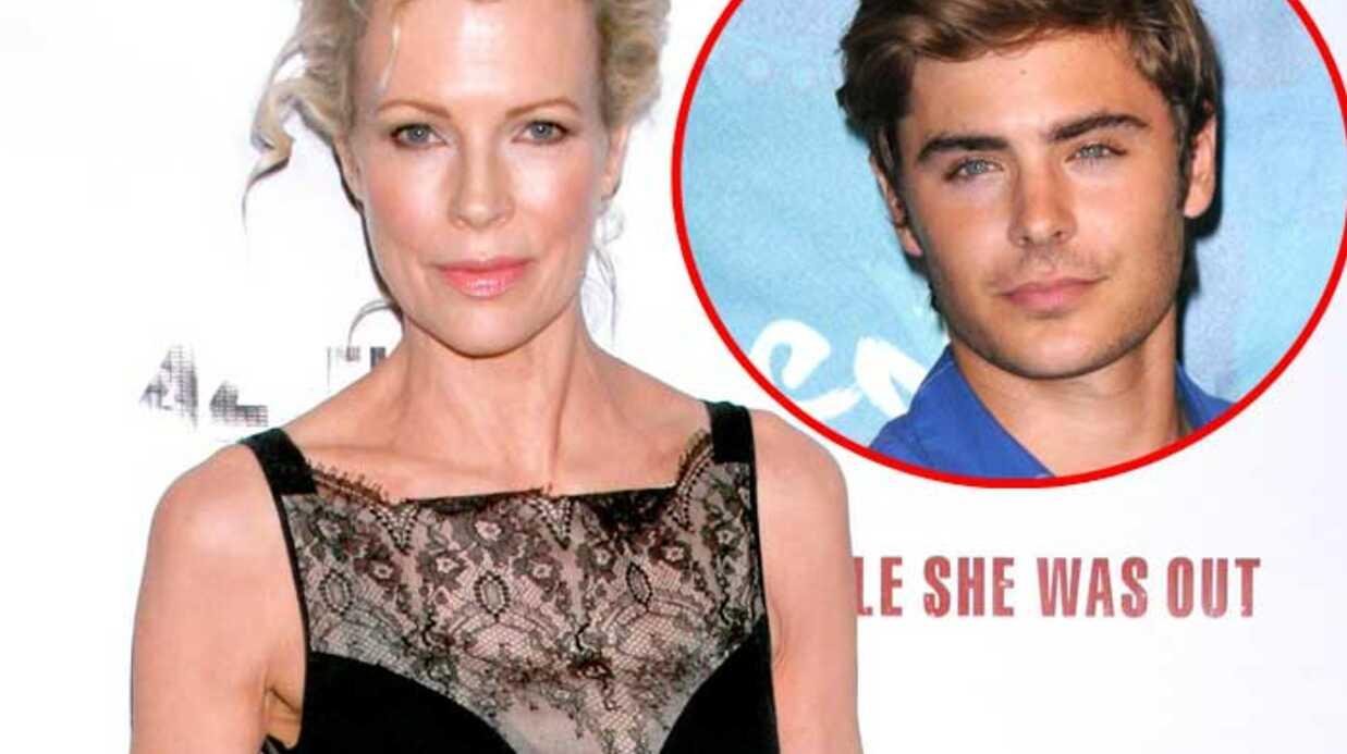 Kim Basinger jouera la mère de Zac Efron dans un film