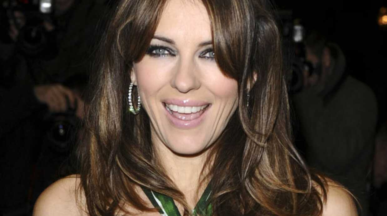 liz hurley pour rait renouer avec son ex hugh grant voici. Black Bedroom Furniture Sets. Home Design Ideas