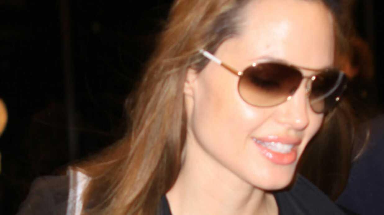 VIDEO Angelina Jolie: Pas d'adoption prévue en Haïti