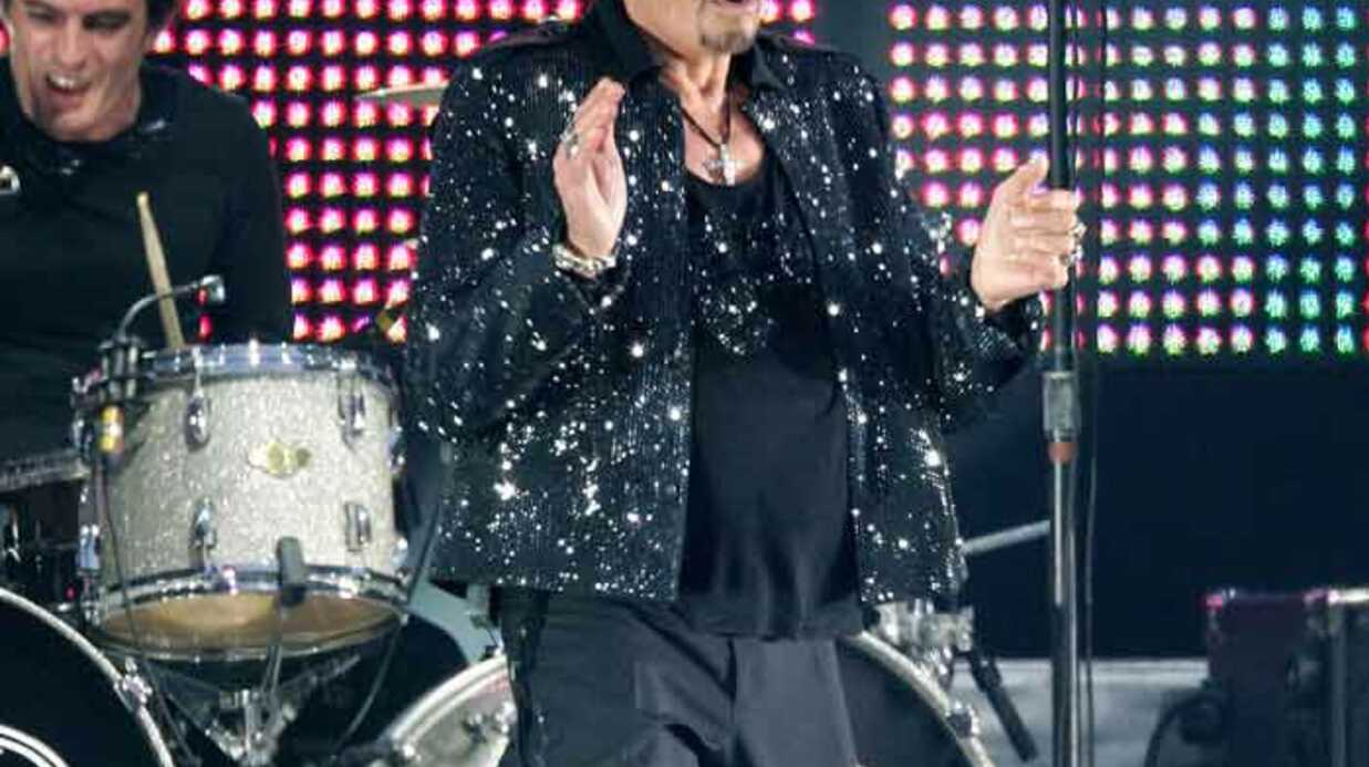 Johnny Hallyday: Paris-Bercy en février 2010
