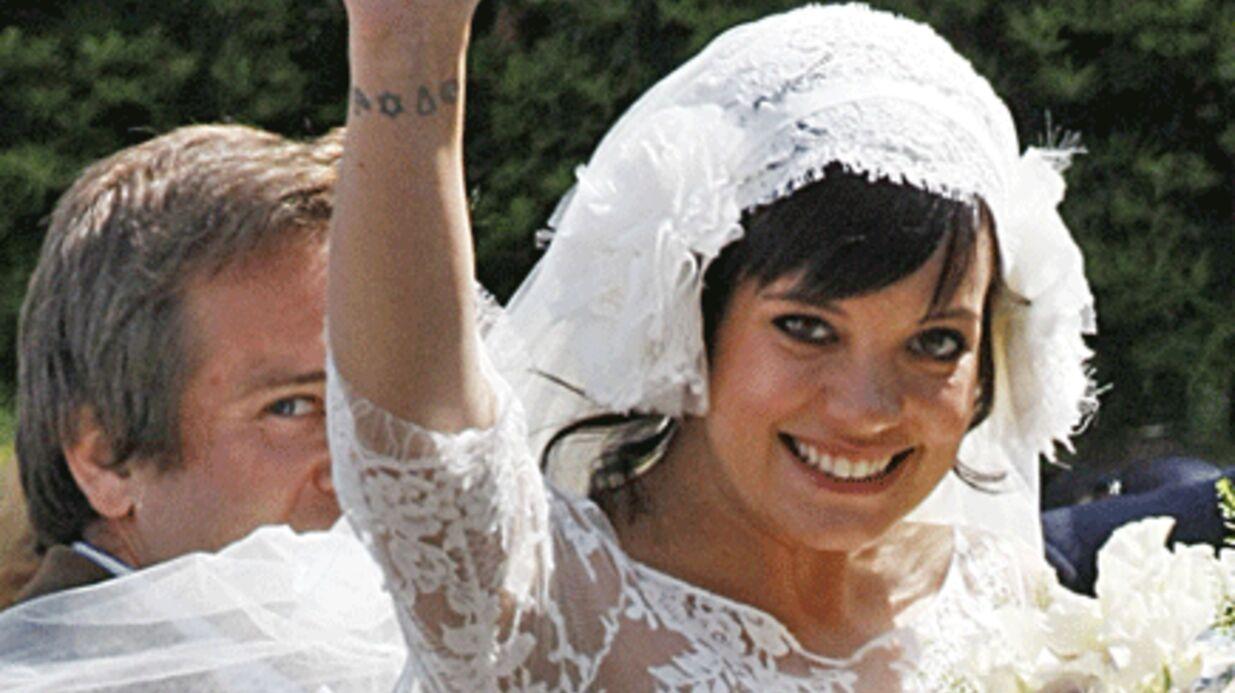 Lily Allen et Sam Cooper: lune de miel sous un tipi à Glastonbury