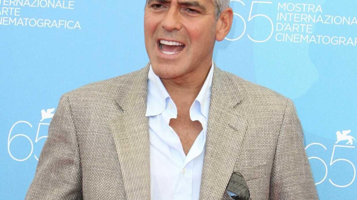 George Clooney pris dans un tremblement de terre