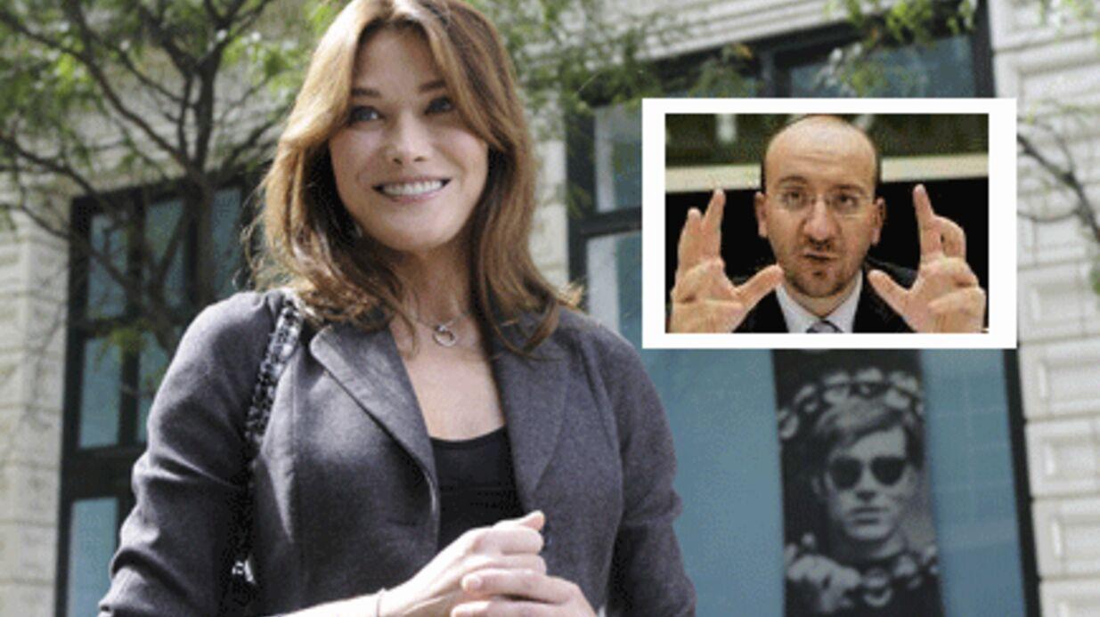 Carla Bruni: Charles Michel victime d'une blague d'un collègue