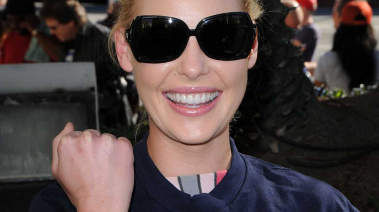 Katherine Heigl Elle boycotte les Golden Globes!