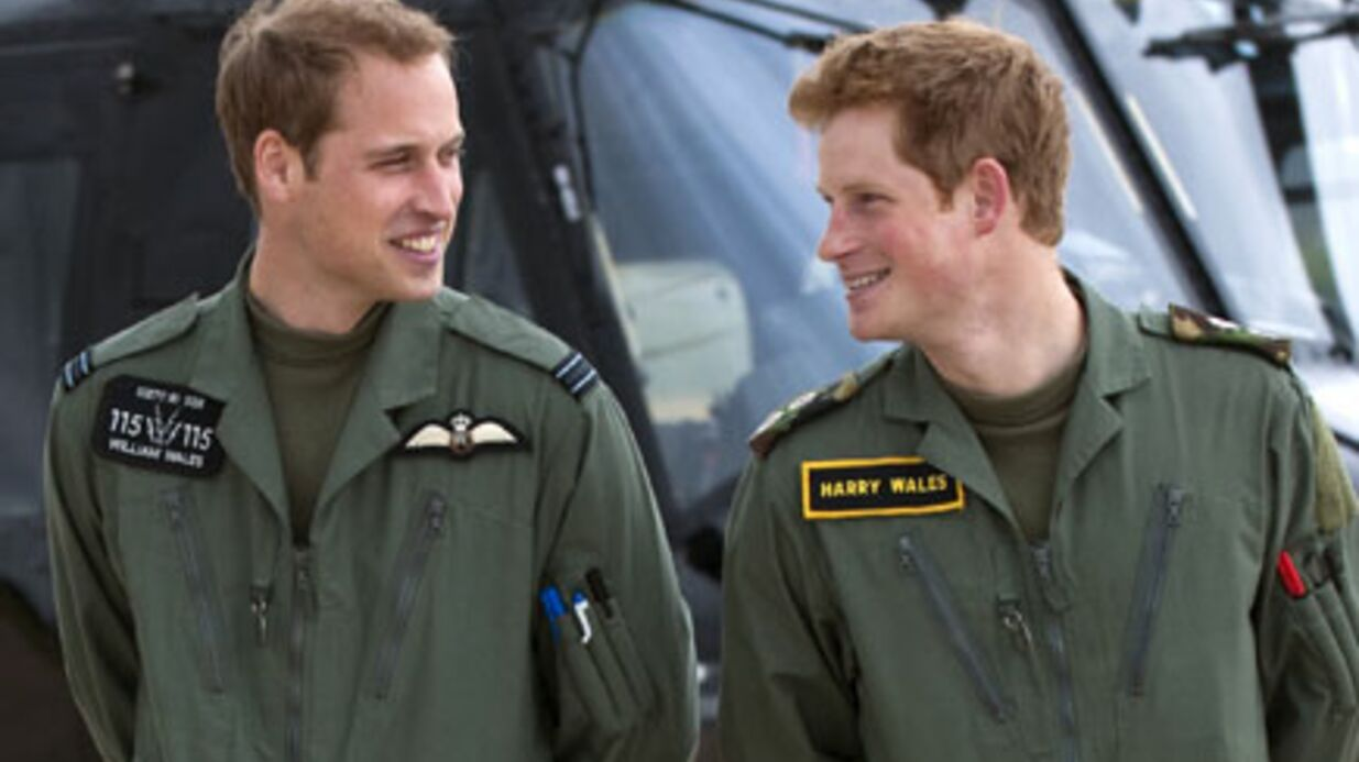 Prince William : son frère Harry sera témoin du mariage