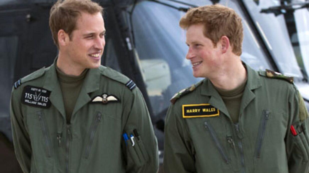 Prince William: son frère Harry sera témoin du mariage