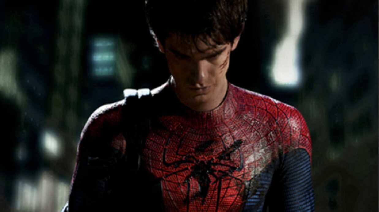 Spiderman: première photo d'Andrew Garfield en costume