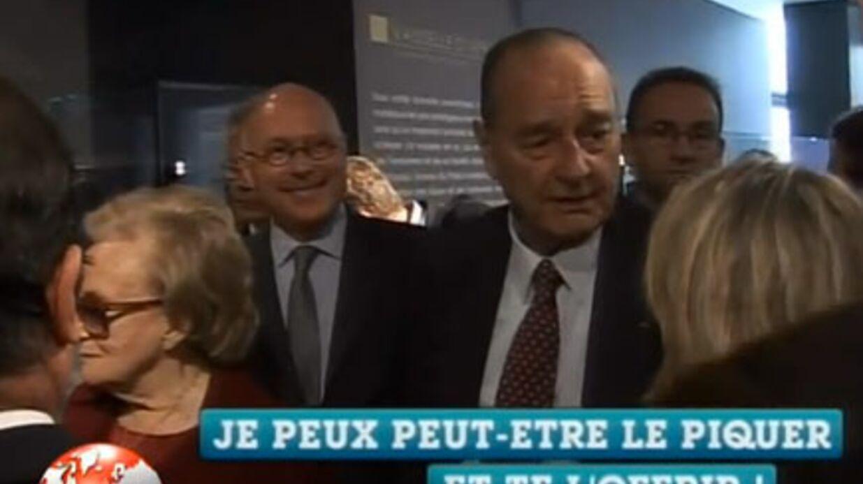 VIDEO Jacques Chirac: encore un plan drague devant Bernadette