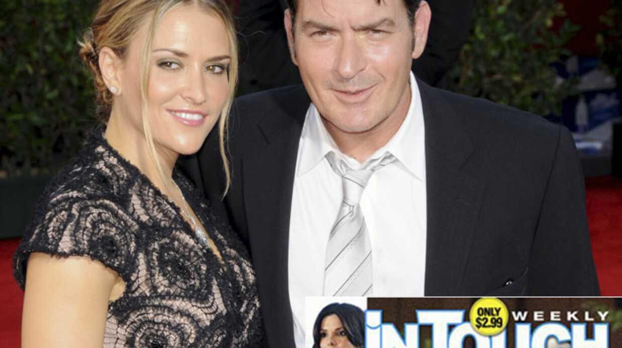 PHOTO Charlie Sheen s'est déguisé pour tromper sa femme