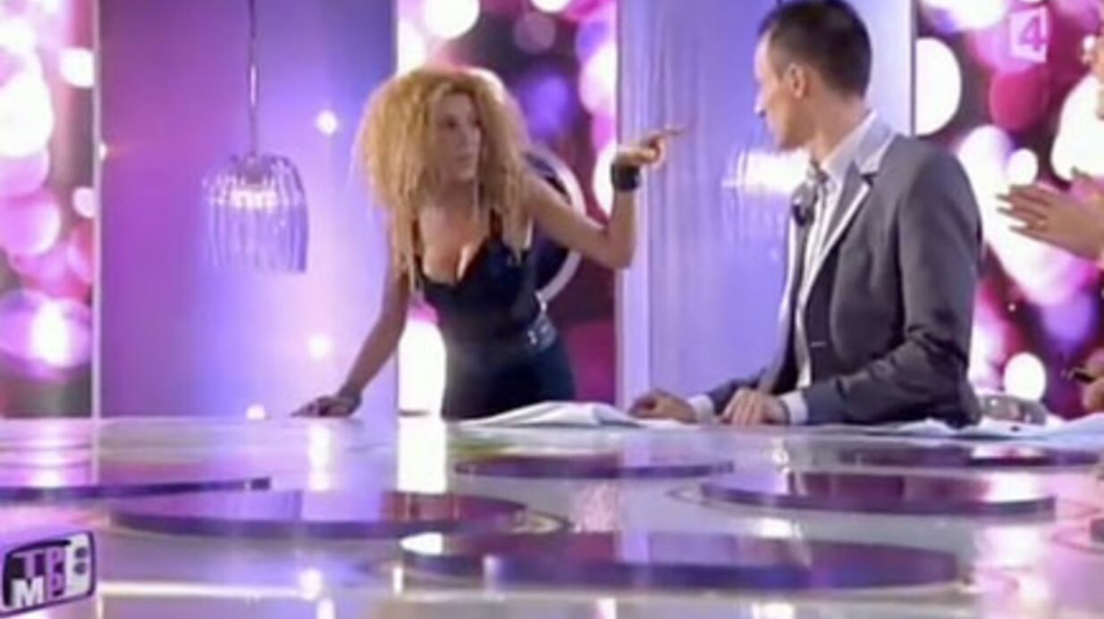 VIDEO Furieuse, Afida Turner quitte le plateau d'Ha­nouna