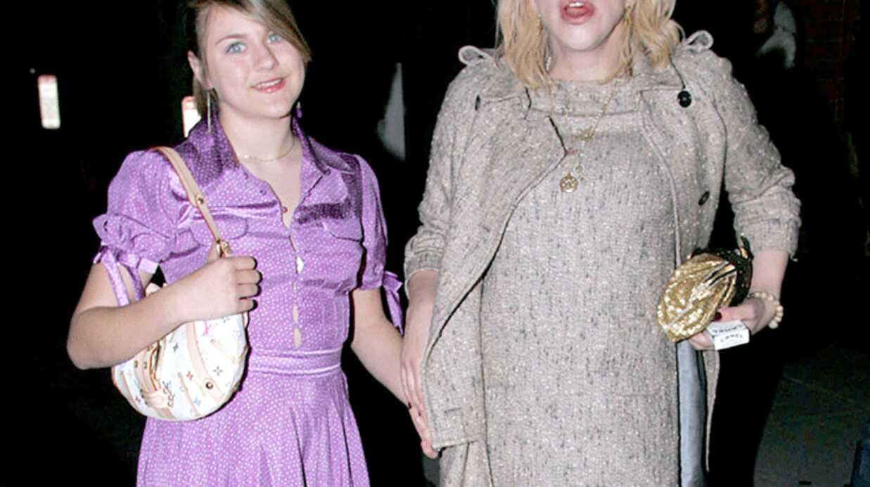 Courtney Love perd la garde de sa fille Frances Cobain