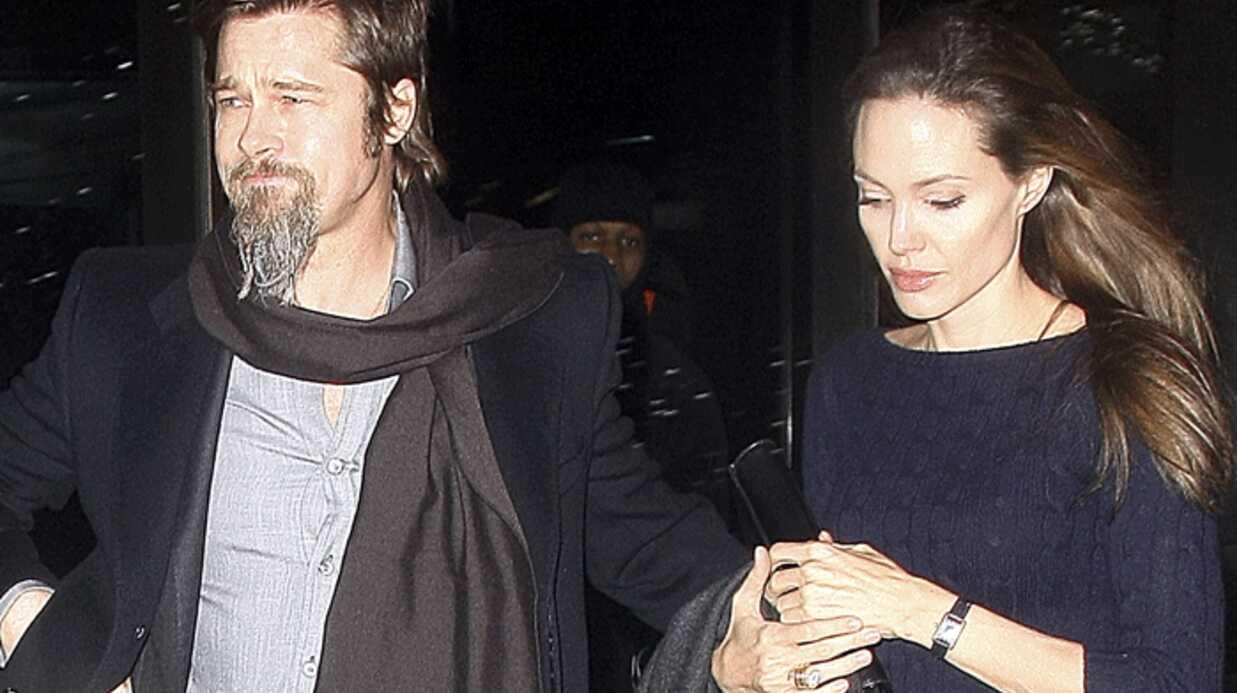 Angelina Jolie ferait suivre Brad Pitt par un privé