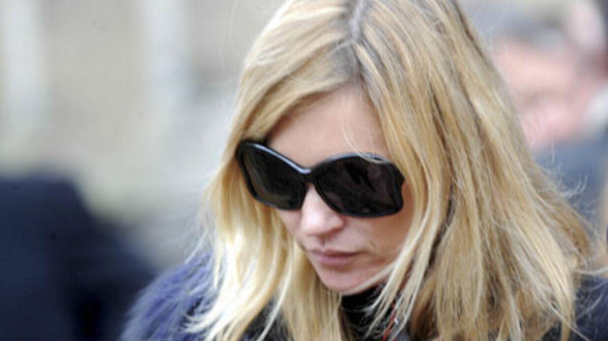Kate Moss: son père a fait une attaque cardiaque