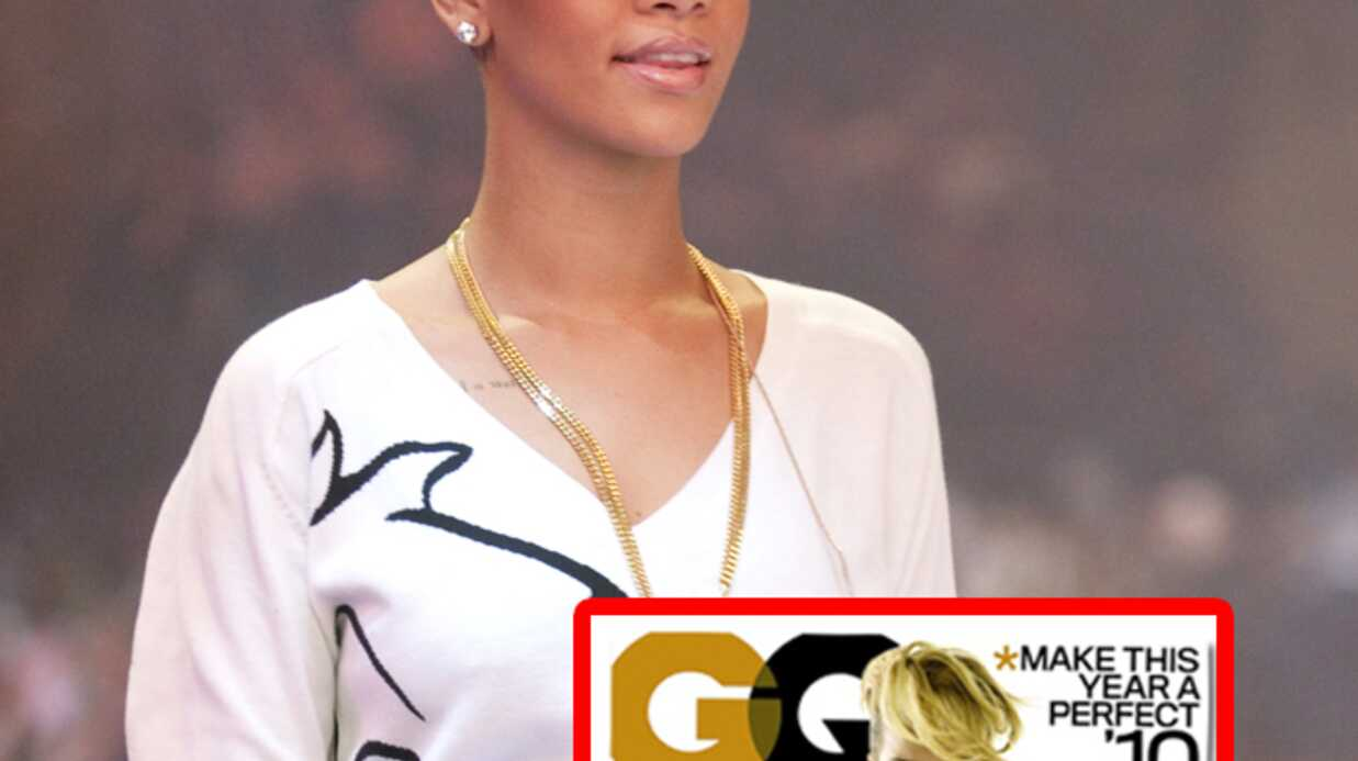 Rihanna pose topless en couverture de GQ