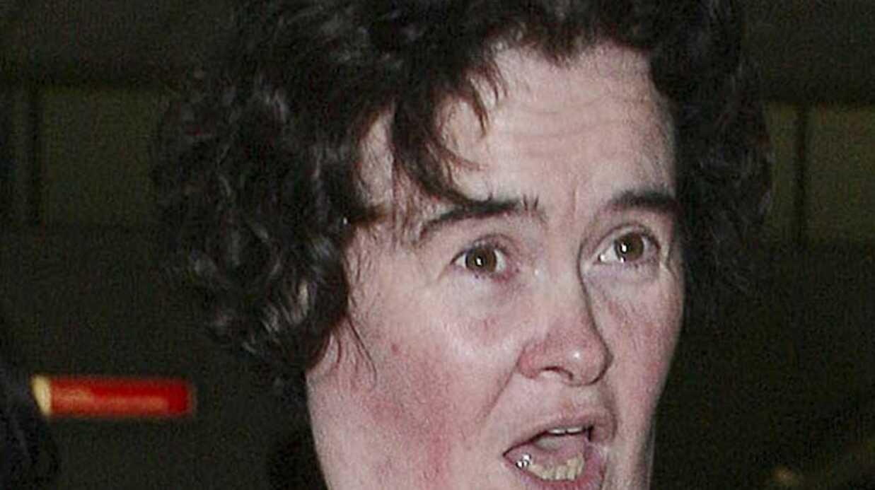 Susan Boyle l'Ecossaise a retrouvé la scène hier à Glasgow