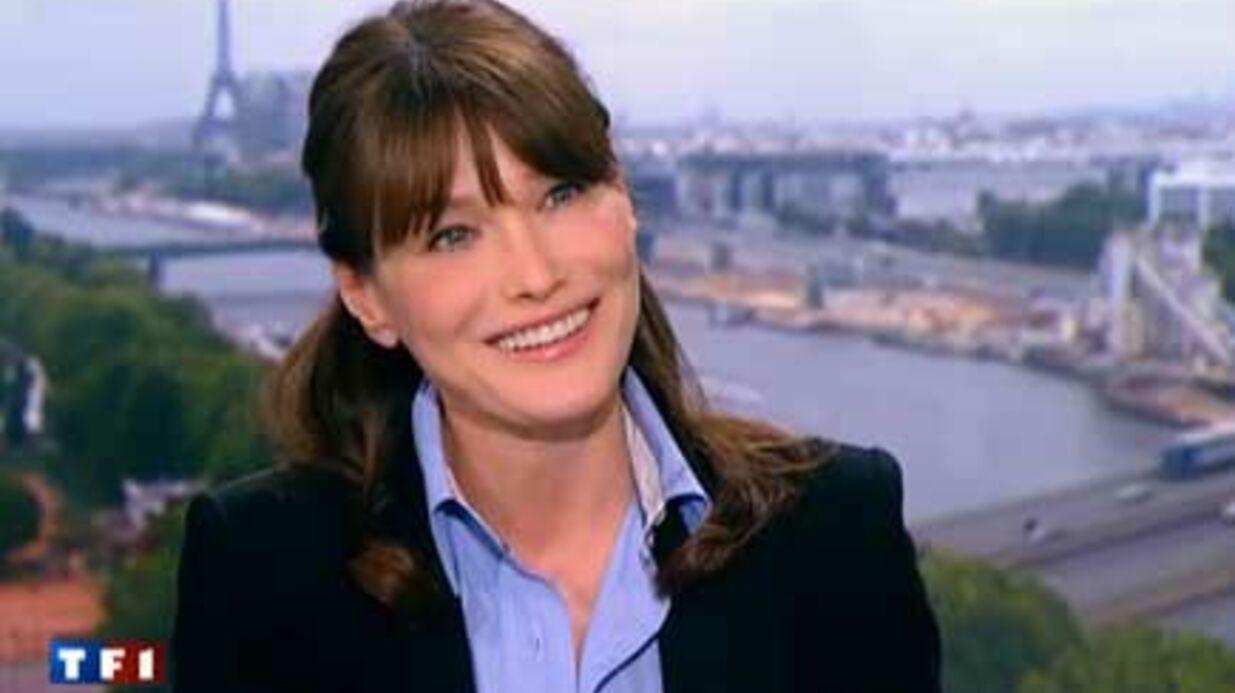 VIDEO Grossesse: Jean-Pierre Penaut félicite Carla Bruni