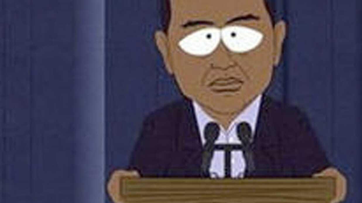 VIDEO Tiger Woods s'excuse dans South Park