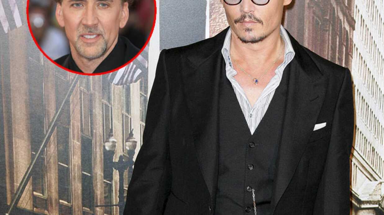 Johnny Depp veut aider Nicolas Cage