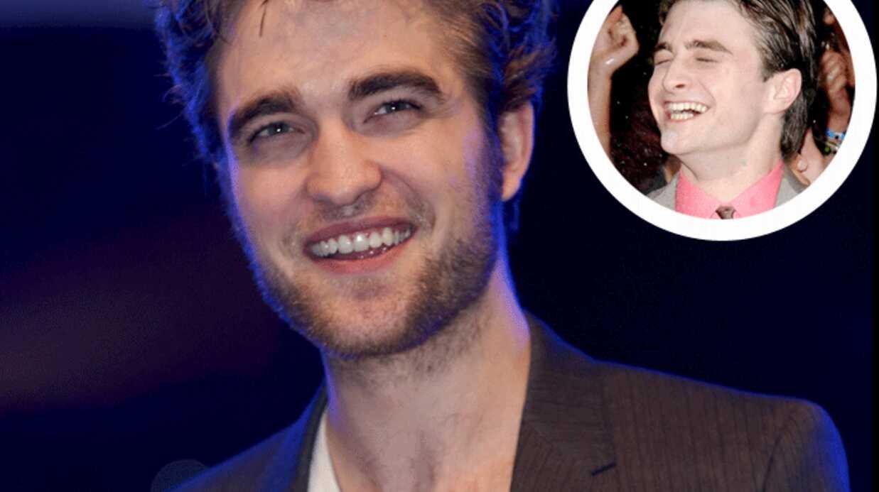 Robert Pattinson demande conseil à Daniel Radcliffe