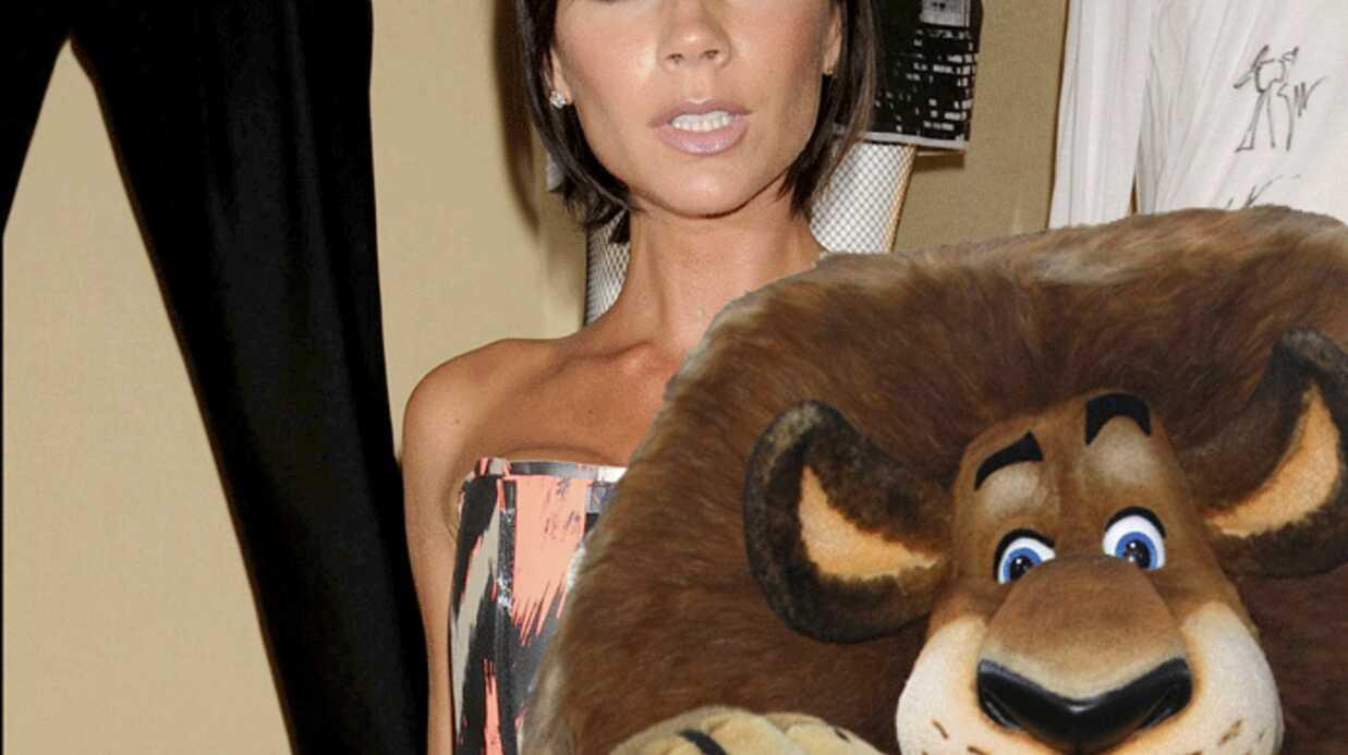 Victoria Beckham au casting de Madagascar 3