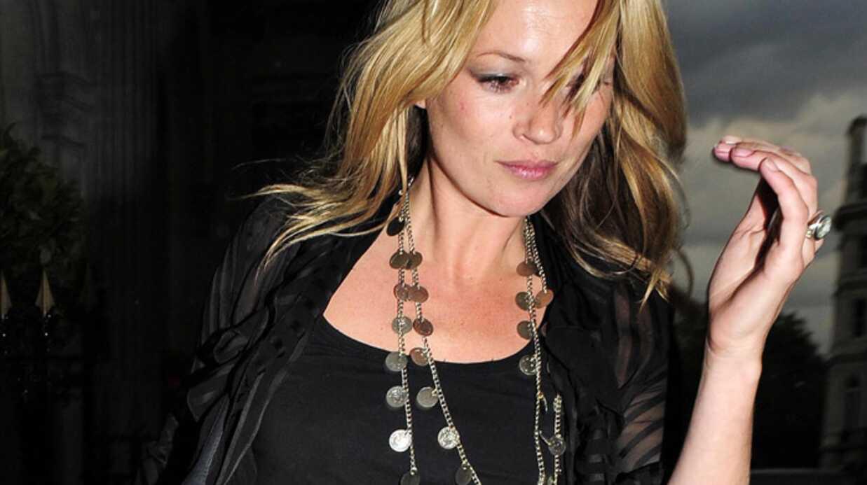 Kate Moss: sa voiture braquée