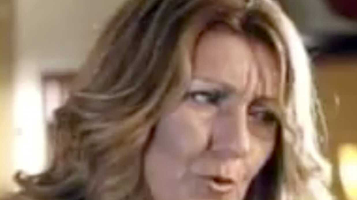Céline Dion dans une pub pour un restau
