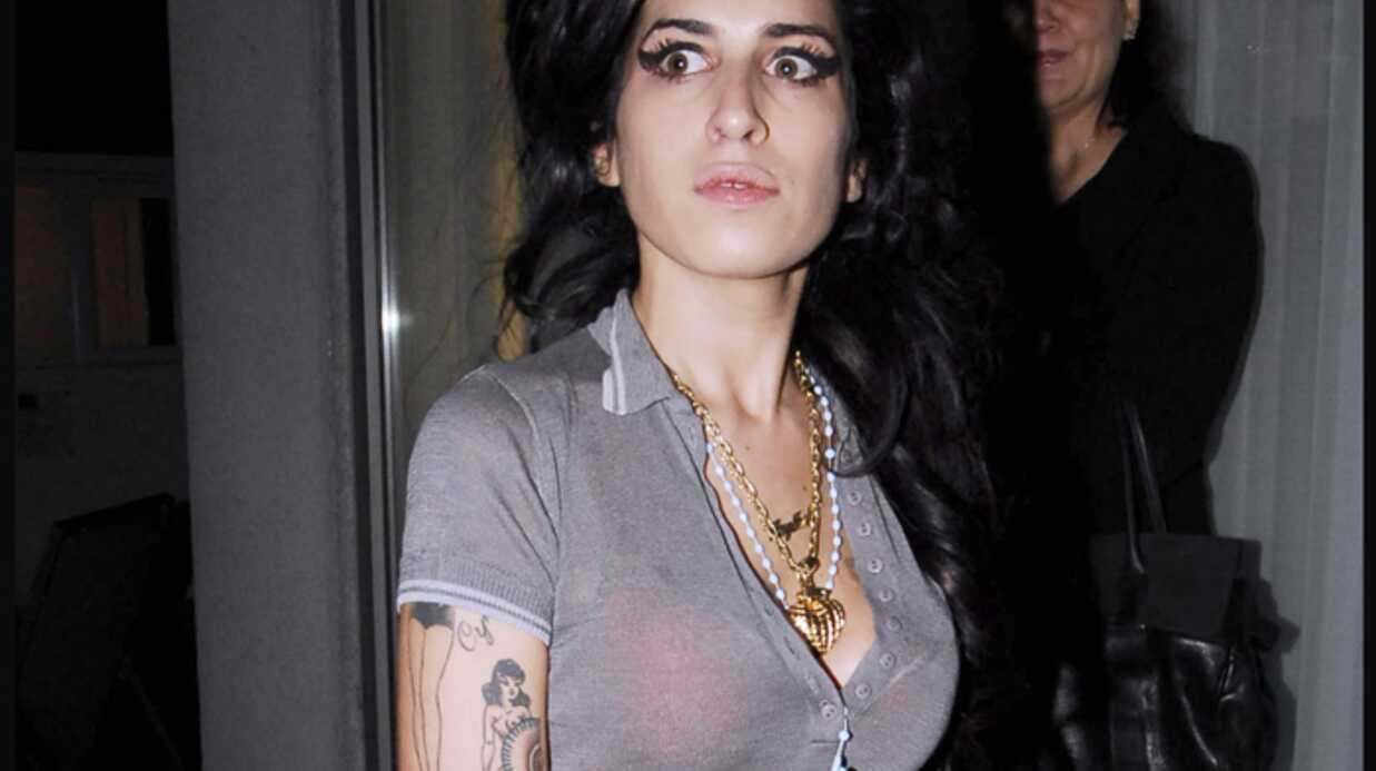 Amy Winehouse En garde-à-vue
