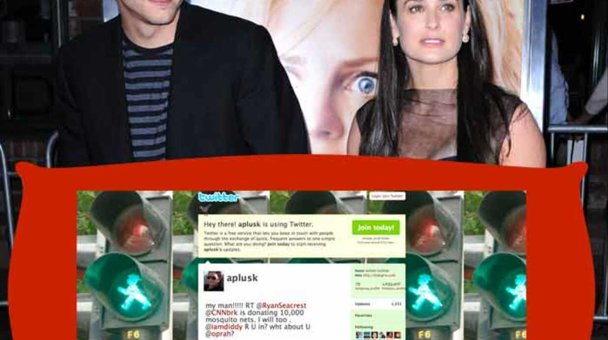 Ashton Kutcher plus fort que CNN sur Twit­ter