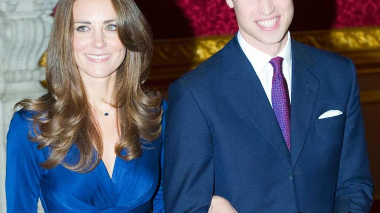 Prince William et Kate Middleton: premier repas avec la Reine
