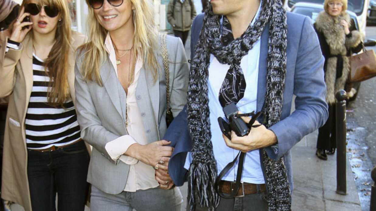 Kate Moss fête son anniversaire à Paris