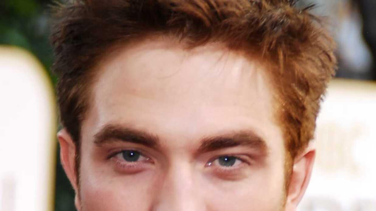 Robert Pattinson est devenu roux