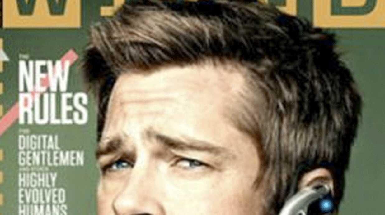 Brad Pitt passionné de nouvelles technologies