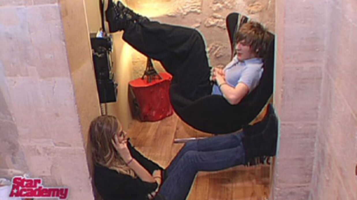 VIDEO – Star Academy 2008: Flirt entre Gautier et Alice