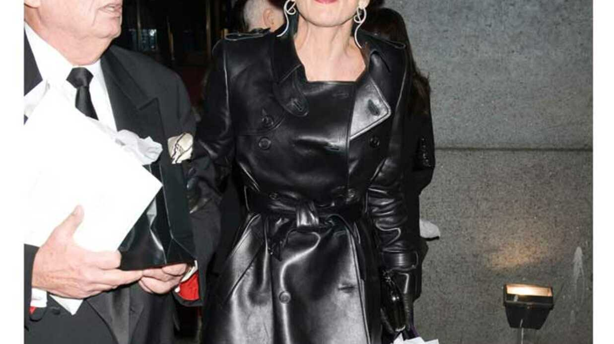 LOOK Sharon Stone signe un nouveau fashion fiasco