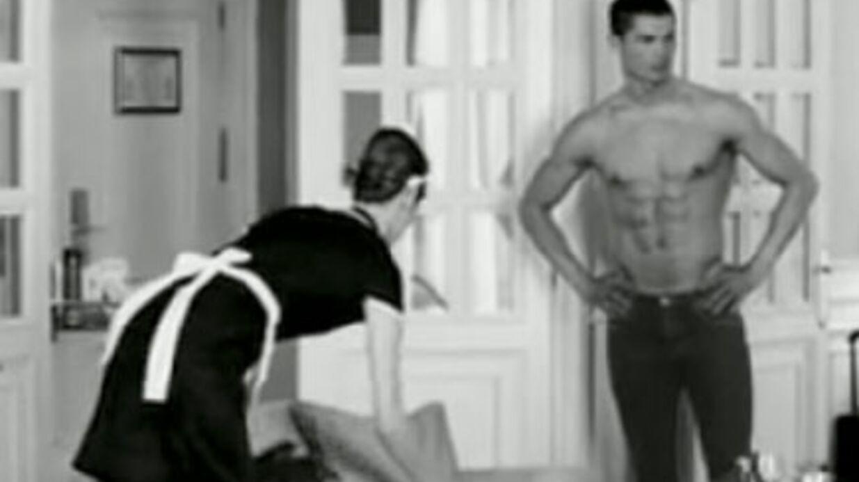 VIDEO Cristiano Ronaldo dans une pub avec une journaliste d'I>télé