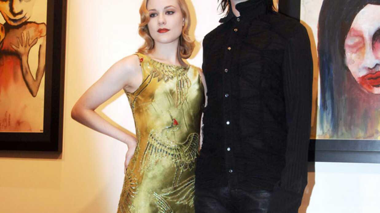 Marilyn Manson et Evan rachel Wood séparés