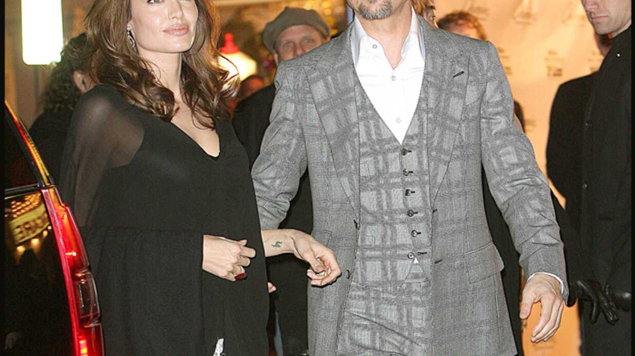 Angelina Jolie Enceinte ou quoi?
