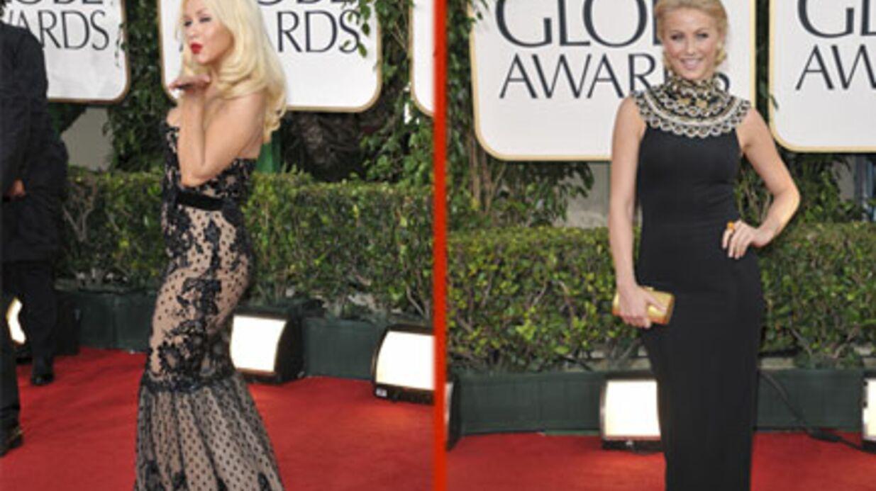 Christina Aguilera: grosse dispute avec Julianne Hough