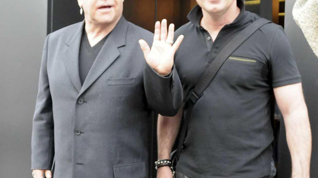 Elton John: les premières photos de son fils