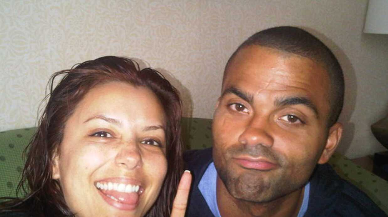 PHOTO Eva Longo­ria et Tony Parker pendant France-Mexique !