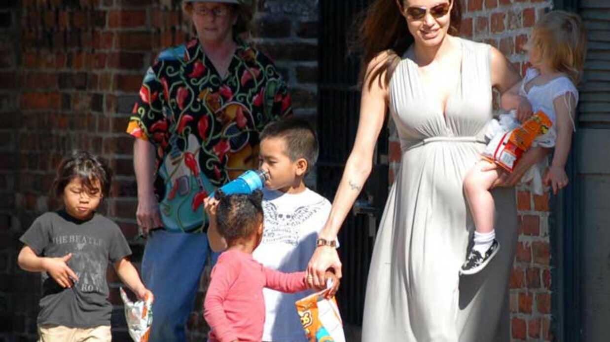 Angelina Jolie Elle est pas belle sa tribu?